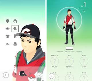 Pokemon Karakter Oluşturma
