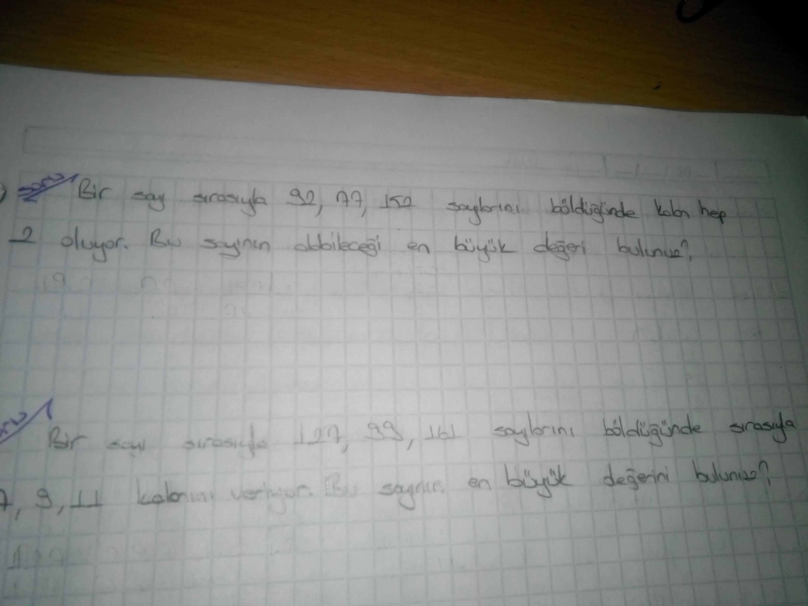 8. Sınıf Soru tipi 3